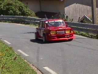 L'ancienne Rallye 3 de Franck Cannata conduite par son père Robert numéro 192